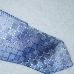 Murano 100% Silk Men's Light Blue Tie 60L 3 1/2 W